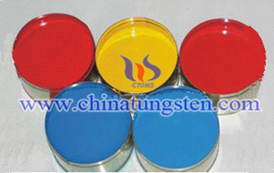 yellow tungstic acid picture