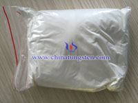 white tungstic acid in value bag picture
